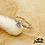 Thumbnail: Bague Arya (argent et oxydes de zirconium)