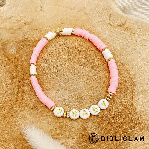 Bracelet Baby (perles de polymère)