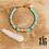 Thumbnail: Bracelet Isia (acier chirurgical plaqué or)