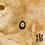 Thumbnail: Collier Inley (acier chirurgical plaqué or et pierre semi précieuse)