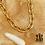 Thumbnail: Collier Joy (acier chirurgical plaqué or)