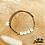 Thumbnail: Bracelet Message (élastique noir)
