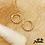 Thumbnail: Boucles d'oreilles Solyne (plaqué or)
