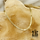 Thumbnail: Collier Bulky Pur (acier chirurgical plaqué or)