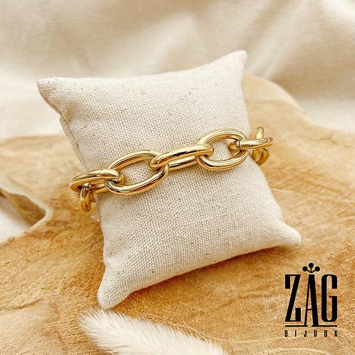 Bracelet Joy (acier chirurgical plaqué or)
