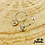 Thumbnail: Boucles d'oreilles Triplettes (argent)