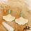 Thumbnail: Boucles d'oreilles Enola (acier chirurgical plaqué or)