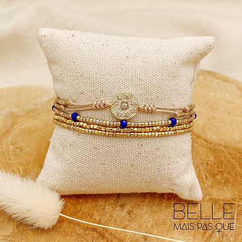 Bracelet Sunlight (plaqué doré)