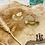 Thumbnail: Boucles d'oreilles Lolita (acier chirurgical plaqué or)