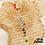 Thumbnail: Bracelet Lucky couleur (plaqué or)