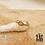 Thumbnail: Bague Impa (acier chirurgical plaqué or & pierre fine)