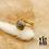 Thumbnail: Bague Ninon (acier chirurgical plaqué or & pierre fine)