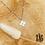 Thumbnail: Collier Boon (acier chirurgical plaqué or gris)