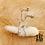Thumbnail: Boucles d'oreilles Romy (acier chirurgical plaqué or gris & oxydes de zirconium)