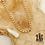 Thumbnail: Sautoir Angèle (acier chirurgical plaqué or)