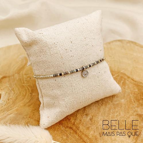 Bracelet Lucida (métal argenté)