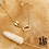 Thumbnail: Collier Mélanie (acier chirurgical plaqué or)