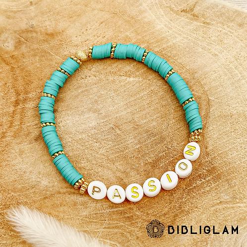 Bracelet Passion (perles de polymère)