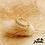Thumbnail: Bague d'oreille Lalie (plaqué or & oxydes de zirconium)