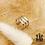 Thumbnail: Bague d'oreille Trois Rangs (acier chirurgical plaqué or gris