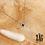 Thumbnail: Collier Georgia (acier chirurgical plaqué or gris et oxydes de zirconium)