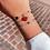 Thumbnail: Bracelet Chance de couleurs (acier chirurgical plaqué or gris)