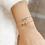 Thumbnail: Bracelet Infinity (plaqué or)