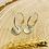 Thumbnail: Boucles d'oreilles Lily (argent)
