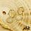 Thumbnail: Boucles d'oreilles Wax Seal (plaqué or)