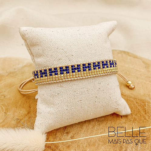 Bracelet Océane (plaqué doré)