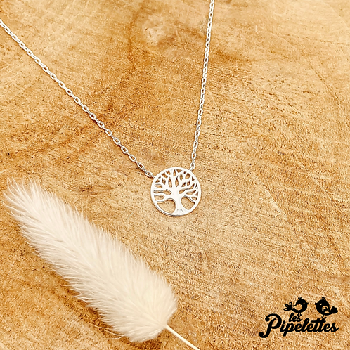 Collier Life Tree (argent)