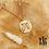 Thumbnail: Collier Egypt (acier chirurgical plaqué or)