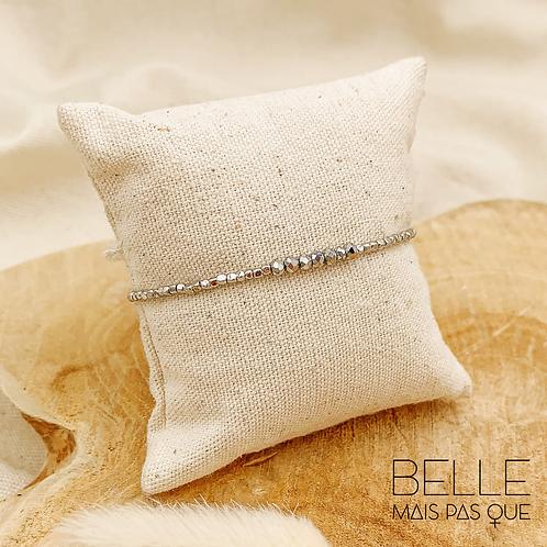 Bracelet Victoria (métal argenté)