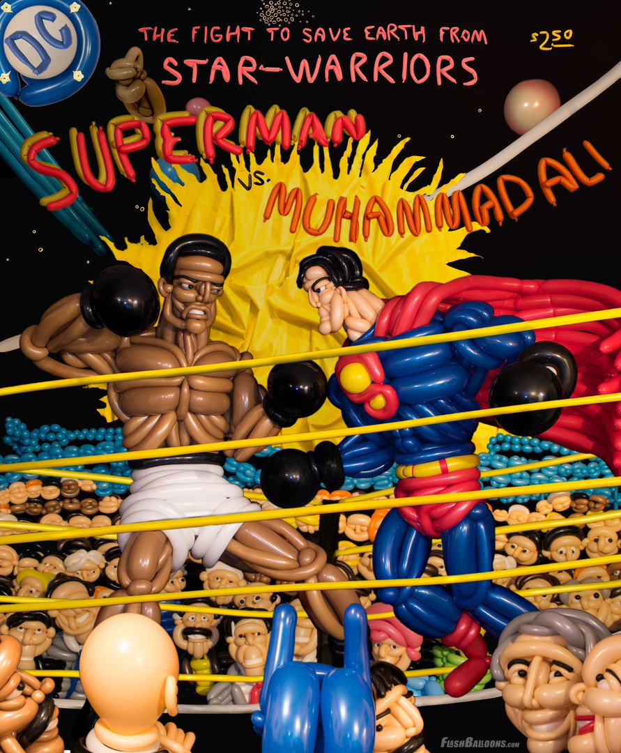 superman vs ali
