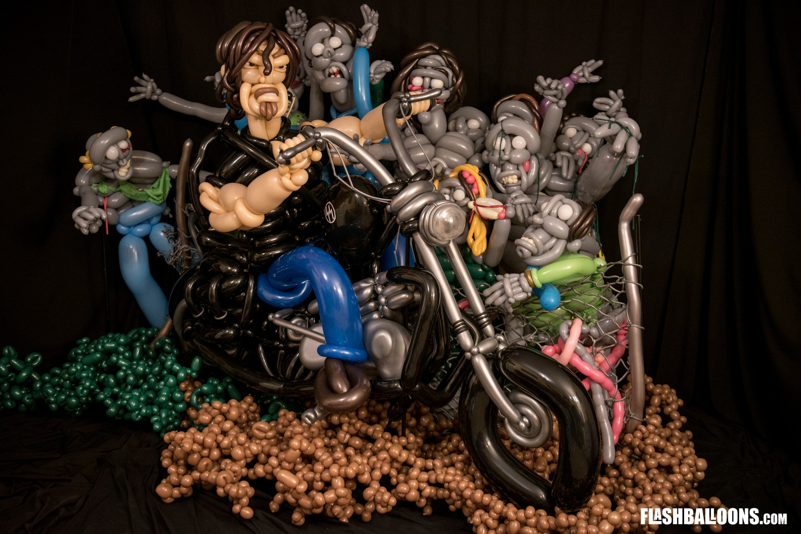Daryl and the dead