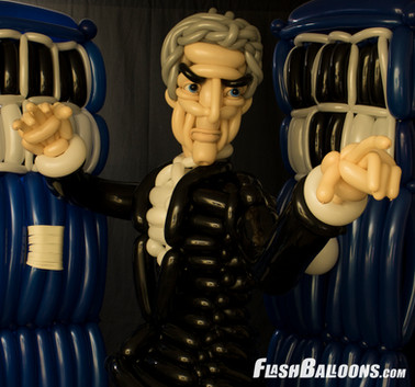 Peter Capaldi balloon