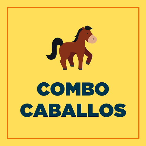 COMBO CABALLOS