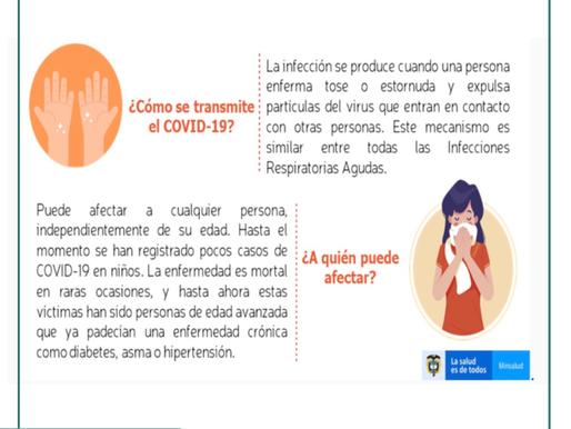 ¿Sabes cómo se trasmite el Coronavirus y a quién puede afectar?