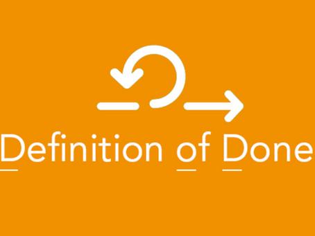 Workshop: Het effectief opstellen van een Definition of Done