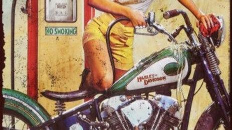 Retrô Harley Davidson
