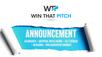 ANNOUNCEMENT – WIN THAT PITCH EXPANDS OFFERING