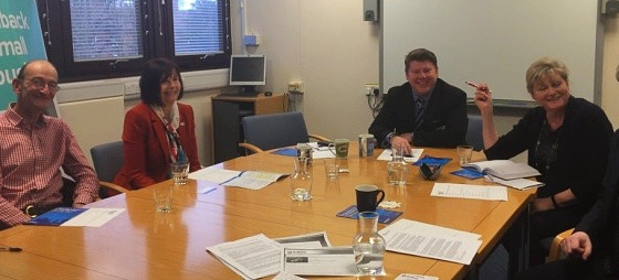 Dean Russell Hosts Federation Of Small Business (FSB) Roundtable With Anne Main MP