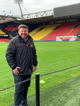 Dean Russell MP Watford at Vicarage Road stadium