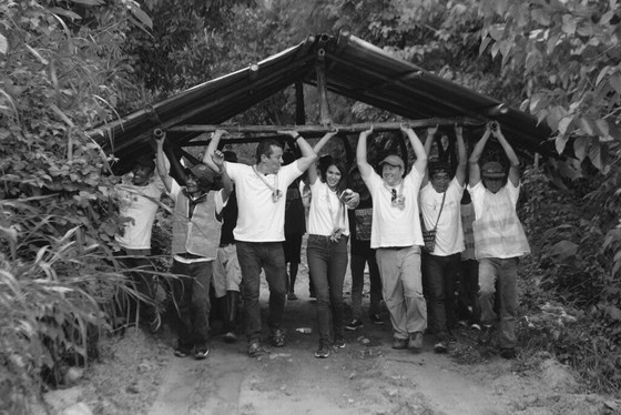 What Carrying A House In The Jungle Taught Me About Communication, Community and Leadership