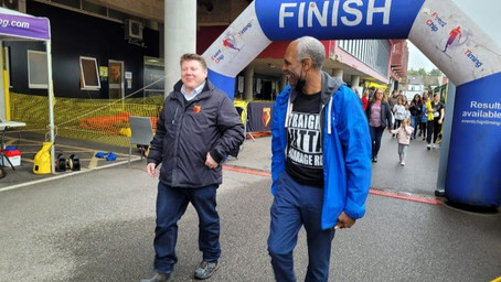 Dean Russell MP Attends Step Up Challenge at Vicarage Road