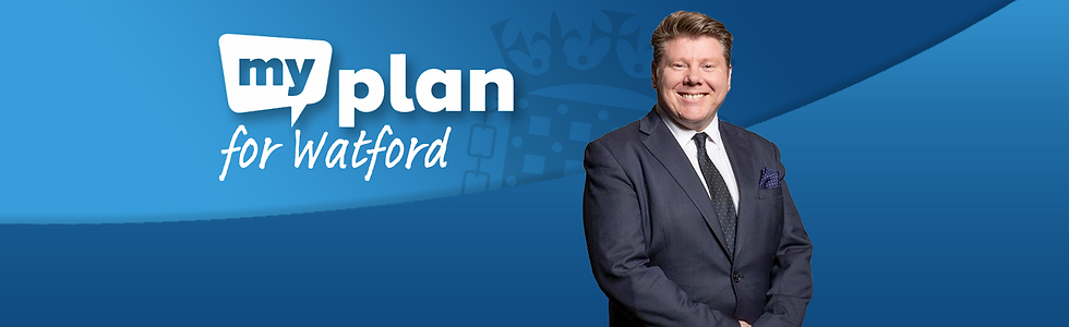Dean Russell MP My Plan for Watford