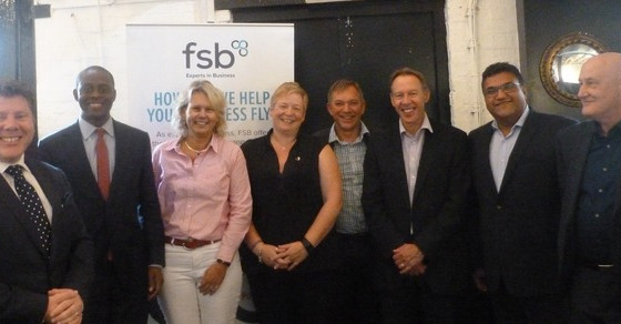Dean Russell Hosts Federation Of Small Business Roundtable With Bim Afolami MP