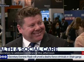Dean talks about Mental Health on GB News at Conference