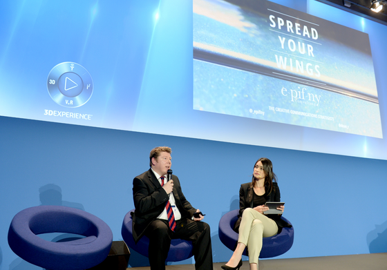 Dean Russell Delivers Speech At Dassault Systèmes® 3DS Event In Paris