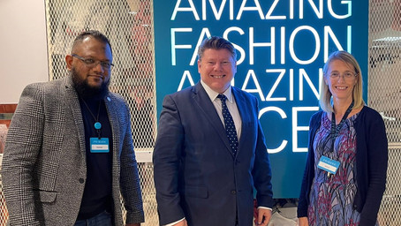 Dean Visits Watford's Primark To Learn More About Their Sustainability Strategy